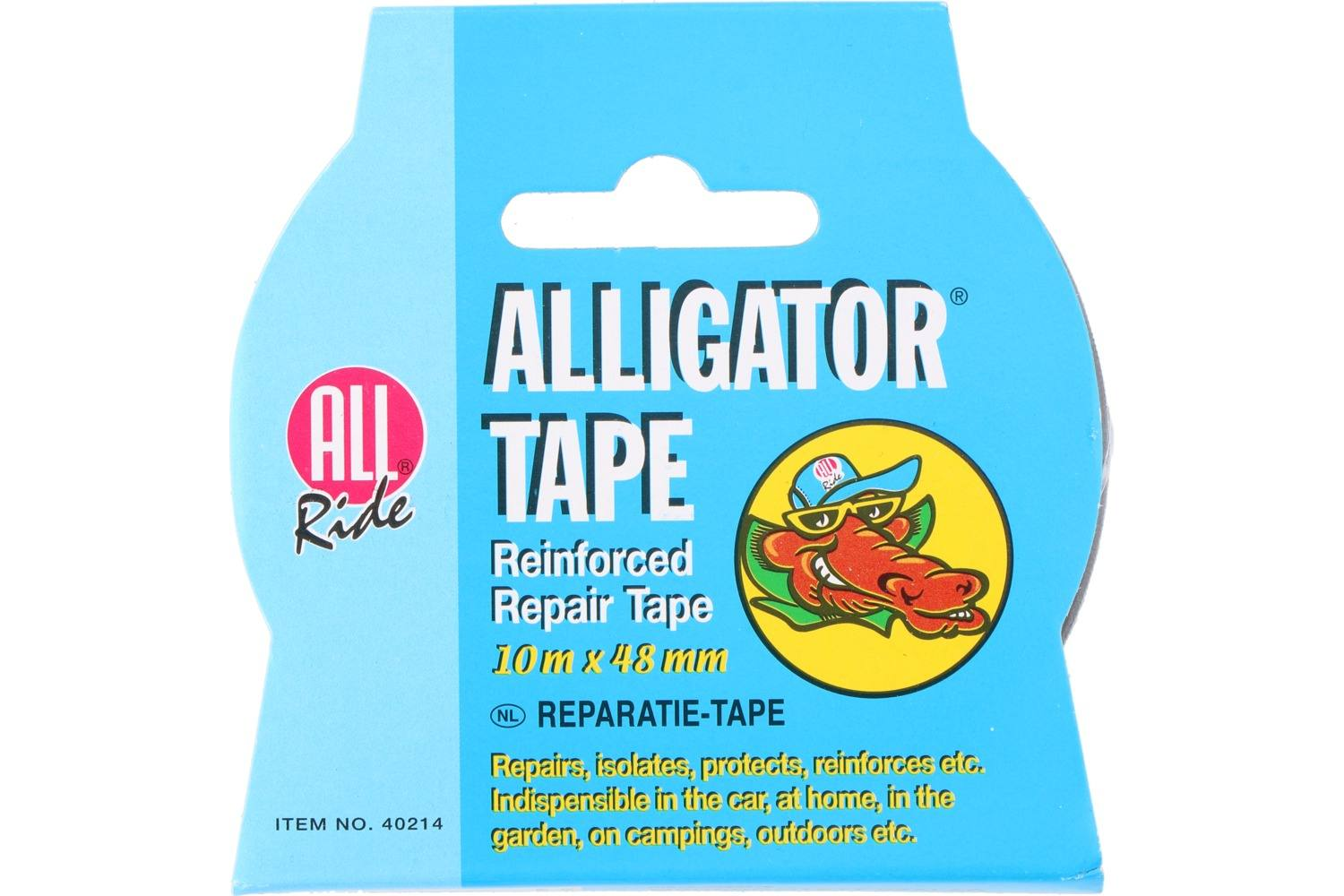 Alligator tape, AllRide, zwart 2